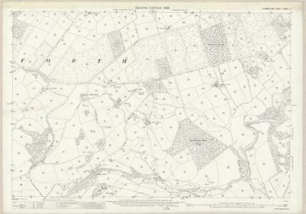 Cumberland LXXVIII.7 (includes: Gosforth) - 25 Inch Map