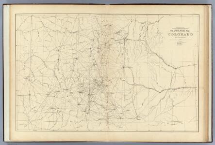 Triangulation Map of Colorado.