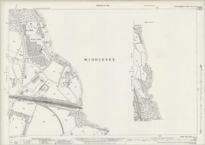 Buckinghamshire XLIX.9 & 13 (includes: Denham; Uxbridge) - 25 Inch Map