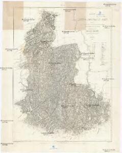 Kart over Lister og Mandals amt