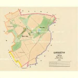 Komorno - c3303-1-001 - Kaiserpflichtexemplar der Landkarten des stabilen Katasters