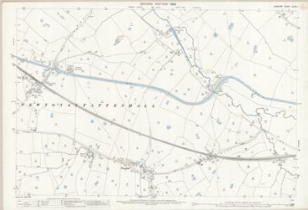 Cheshire XLVII.11 (includes: Beeston; Hatton; Huxley; Newton by Tattenhall; Tattenhall) - 25 Inch Map