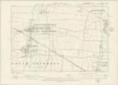 Nottinghamshire X.SE - OS Six-Inch Map