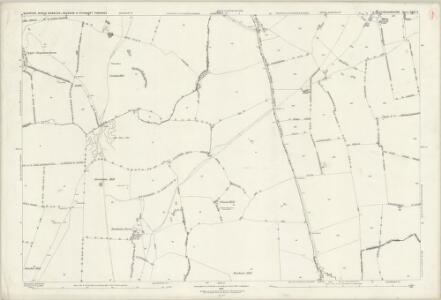 Buckinghamshire XXIII.9 (includes: Hogshaw; North Marston; Quainton) - 25 Inch Map