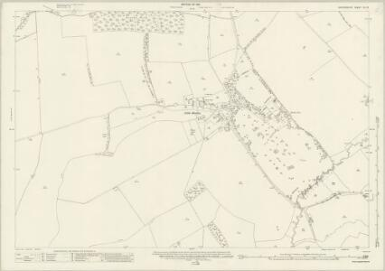 Oxfordshire XL.16 (includes: Great Haseley; Great Milton; Little Milton; Pyrton) - 25 Inch Map