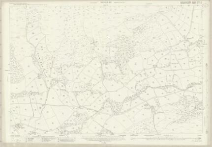 Brecknockshire XXXVI.14 (includes: Llanbedr Ystrad Yw; Llandeilo Bertholau; Llanfoist Fawr; Partrishow) - 25 Inch Map