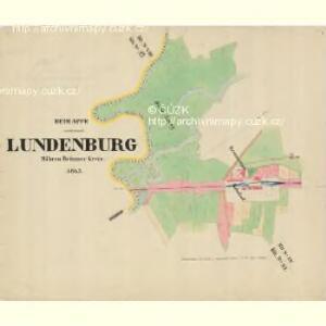 Lunderburg - m0243-1-010 - Kaiserpflichtexemplar der Landkarten des stabilen Katasters