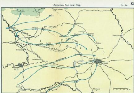 Nr. 6a. Kämpfe in Ostgalizien. Zwischen San und Bug