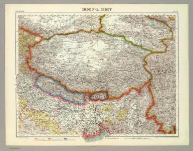 Inde N.-E. et Tibet.