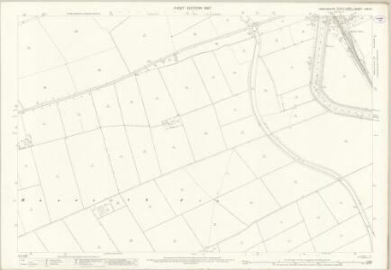 Lincolnshire LXXI.16 (includes: Bardney; Branston and Mere; Nocton; Potter Hanworth) - 25 Inch Map
