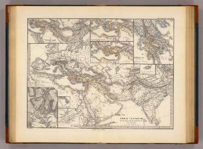 Orbis terrarum post proelium Corupediense 282-220 a. Ch.