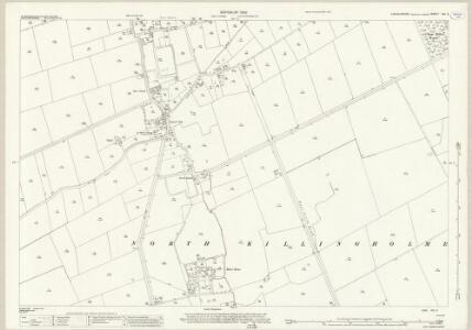 Lincolnshire XIII.2 (includes: East Halton; North Killingholme) - 25 Inch Map