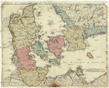 Carte du royaume de Danemarc