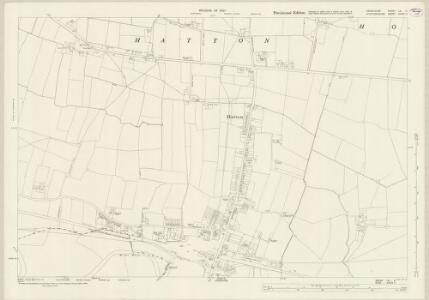 Derbyshire LIII.11 (includes: Foston and Scropton; Hatton; Hoon; Tutbury) - 25 Inch Map