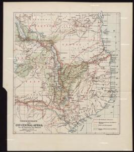 Übersichtskarte von Ost-Central-Afrika