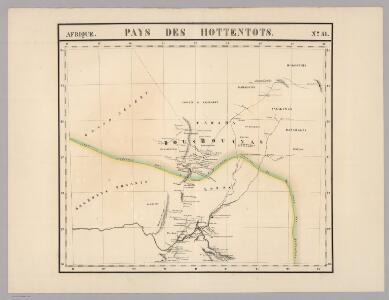 Pays des Hottentots. Afrique 51.