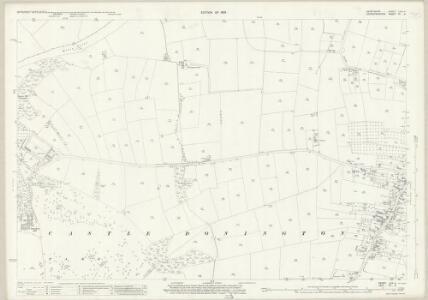 Derbyshire LVIII.4 (includes: Castle Donington; Weston upon Trent) - 25 Inch Map