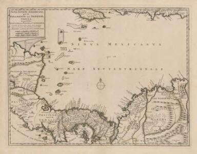 Nova Isthmi Americani, qui et Panamiensis item Dariensis Tabula