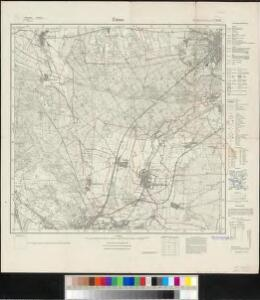 Meßtischblatt 2176 : Zinna, 1925