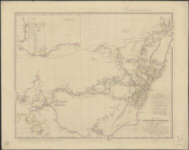 Map of the discoveries in Australia : copied from the latest m.s. surveys in the Colonial Office [...]