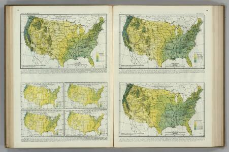 Monthly (February, March, April) Precipitation.  Atlas of American Agriculture.