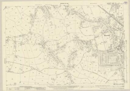 Lancashire CXIA.12 (includes: Cheadle And Gatley; Hazel Grove And Bramhall; Wilmslow) - 25 Inch Map