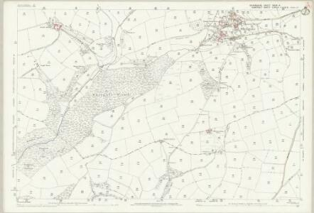 Devon XXIV.4 (includes: Bampton; Morebath; Skilgate) - 25 Inch Map