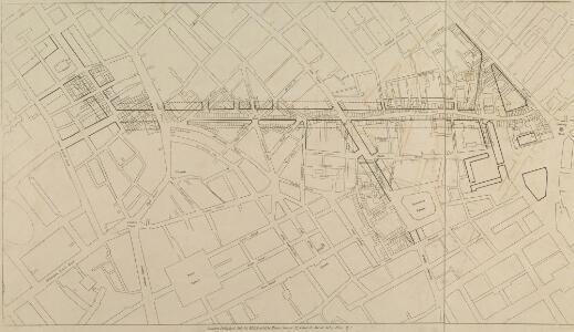 A Plan of the intended improvements from Charing Cross to Bedford Square