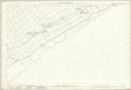 Monmouthshire XXXVIII.6 (includes: Cardiff; Peterstone Wentlloog; St Mellons) - 25 Inch Map