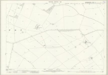 Huntingdonshire IV.16 (includes: Elton; Folksworth and Washingley; Warmington) - 25 Inch Map