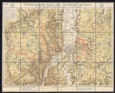 Die Kriegsoperationen um Metz im Jahr 1870