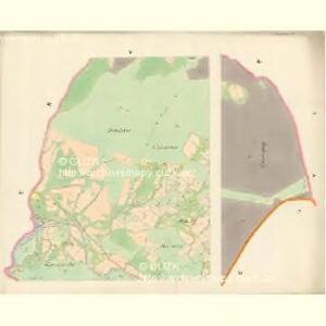 Ober Beczwa (Horny Bečwa) - m0763-1-001 - Kaiserpflichtexemplar der Landkarten des stabilen Katasters