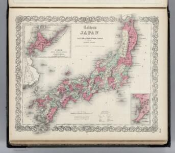 Japan. Nippon, Kiusiu, Sikok, Yesso and the Japanese Kuriles.
