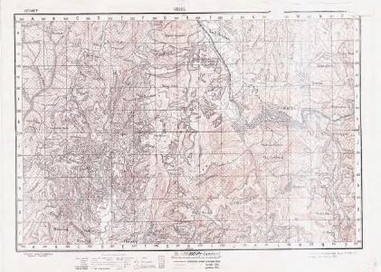 Lambert-Cholesky sheet 2053 (Reşita)