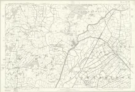 Kent LXXX - OS Six-Inch Map