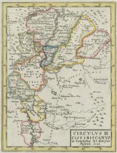 Circvlvs III Cistibiscanvs in Comitatus XI divisus