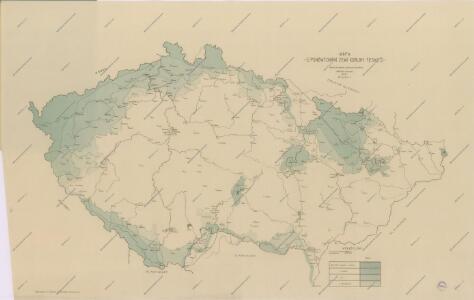 Mapa poněmčování zemí koruny České