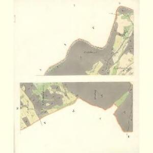 Rudelzau (Rudlawic) - m2640-1-001 - Kaiserpflichtexemplar der Landkarten des stabilen Katasters
