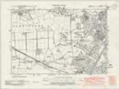 Cheshire IX.SW - OS Six-Inch Map