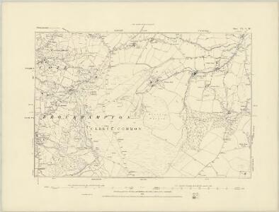 Gloucestershire XIX.NE - OS Six-Inch Map