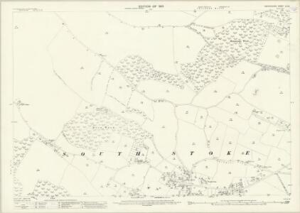Oxfordshire LII.12 (includes: Checkendon; South Stoke) - 25 Inch Map