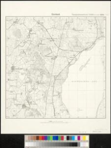 Meßtischblatt 2234 : Dambeck, 1881