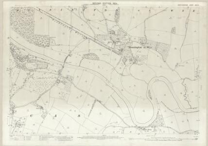Herefordshire XXXII.6 (includes: Byford; Moccas; Monnington On Wye; Preston On Wye) - 25 Inch Map