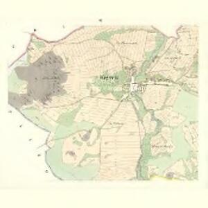 Wogowitz (Wogowicze) - c8740-1-002 - Kaiserpflichtexemplar der Landkarten des stabilen Katasters