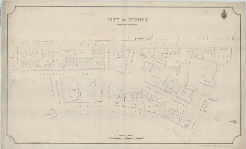 City of Sydney, Sections 61,65 & part of 66, 1889
