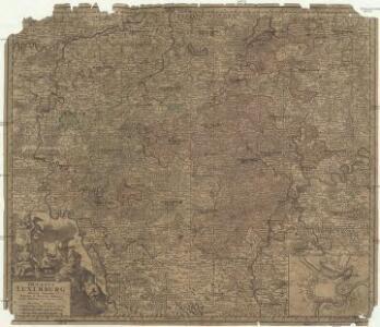 Ducatus Luxemburg distinctis limitibus majorum et minorum ditiorum