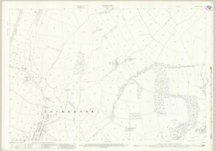Derbyshire L.12 (includes: Dale Abbey; Hopwell; Ockbrook; Risley; Spondon) - 25 Inch Map