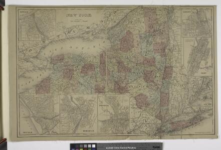 Oswego ; Buffalo ; Rochester ; Syracuse ; New York ; Albany ; Troy ; Vicinity of New York