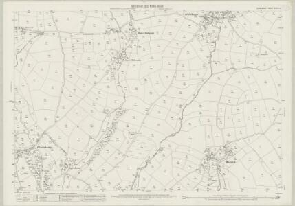 Cornwall XXVIII.4 (includes: Linkinhorne; South Hill) - 25 Inch Map