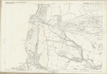 Worcestershire LIII.4 (includes: Berrow; Birtsmorton; Bromsberrow; Castlemorton; Eastnor) - 25 Inch Map